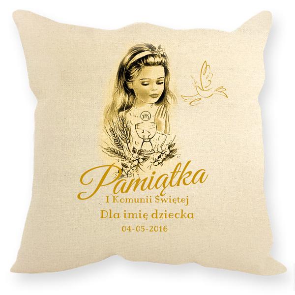 1497ca383a Prezent na pierwszą komunię świętą - poduszki dekoracyjne
